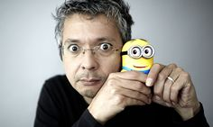 Nick McGrath meets Pierre Coffin, familiar to film-lovers as the voice (and creator) of Despicable Me's Minions. The Guardian June Pierre Coffin, Minion Characters, Minion Art, Finger Family Song, Penguins Of Madagascar, Talking Animals, 10 Film, Minion Banana, Future Videos