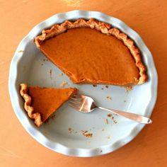 Thanksgiving Recipes : Winchester Sun Pumpkin Pie Recipe