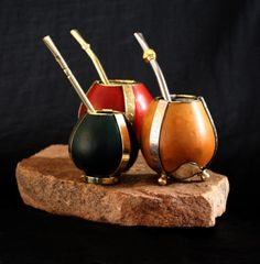 Mate gourds are used throughout Chile and Argentina. We see them often on our Patagonia hiking trips. Whether you're drinking tea or enjoying their aesthetic beauty, they'll be a great reminder of the incredible trip to Patagonia
