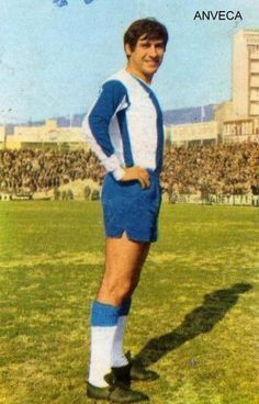Jorge Griffa of RCD Espanyol in 1970.