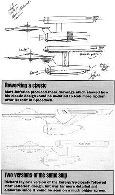 Concept Art NCC-1701 Refit