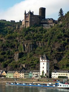 Katz Castle (Cat Castle) - St Goarshausen - Rhine Valley - Germany