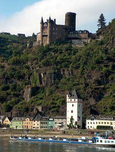 Katz Castle (Cat Castle) - St Goarshausen - Rhine Valley - Germany
