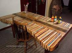 Holztisch massiv selber bauen  Esstisch aus massivem Holz // Massive wooden dining-table by ...