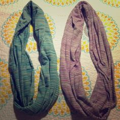 """Spotted while shopping on Poshmark: """"2 AE knit infinity scarves""""! #poshmark #fashion #shopping #style #American Eagle Outfitters #Accessories"""
