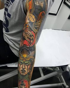 Other sesion on this mysthic arm, can't wait to continue Done with @revolutionneedles @killerinktattoo @hustlebutterdeluxe and @eternalink #revolutionneedles #killerink #hustlebutterdeluxe #eternalink #tattooistartmagazine