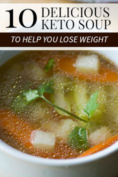 You're all about the ketogenic diet, a low-carb, high-fat eating plan. But—believe it or not—eating bacon, cheese, and avocado whenever you want can get old. These are low carb keto soup recipes you can try to be added to your ketogenic meal plan. Low Carb Soup Recipes, Lunch Recipes, Diet Recipes, Cooking Recipes, Breakfast Recipes, Recipies, Ketogenic Diet Meal Plan, Diet Meal Plans, Ketogenic Recipes