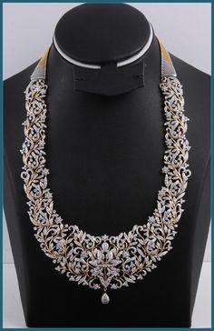 Woooow ..gold and diamond long chain