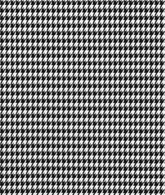 Premier Prints Houndstooth Black Fabric - $9.98 | onlinefabricstore.net