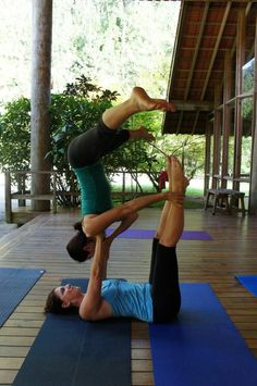 Acro yoga   A pose I can do! Http://patricialee.me