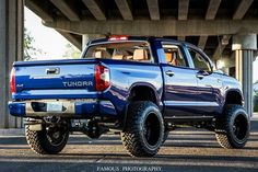 "2015 Toyota Tundra 1794 Loaded 4x4 Crewmax 8"" FTS lifted on 37""s Toyo"