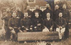 Het zangkoor van de Belgische geïnterneerde soldaten te Balk (Holland) op 11 juni 1915 - beschikbaar gesteld door Renneke Piersma