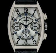 FRANCK MULLER 18K W/G MASTER BANKER CHRONOGRAPH GENTS B&P 7850 CC  http://www.watchcentre.com/product/franck-muller-18k-w-g-master-banker-chronograph-gents-bp-7850-cc/4499
