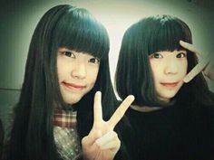 Fukumoto Manaka(Little Glee Monster) and asahi
