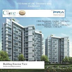 The Cove - A residential project comprising of 2 and 3 BHK premiere residences by PRA Realty(I) Pvt Ltd. at Kondhwa, Pune. To know more Visit: http://www.puneproperties.com/the-cove-flats-apartments-kondhwa.html #PuneProperties #FlatsinPune #ApartmentsinPune #FlatsinPune #FlatsinKondhwa #ApartmentsinKondhwa