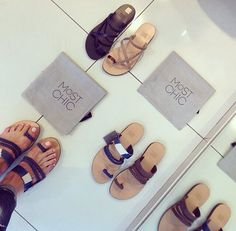MOST CHIC sandals ss14