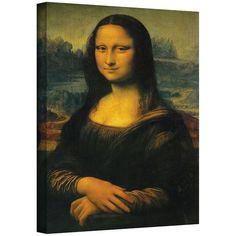 VIDA Leather Accent Tag - Mona Lisa Da Vinci by VIDA NuqMYMCz