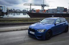 M135i, with the F30 M3 front bumper and E92 M3 bonnet