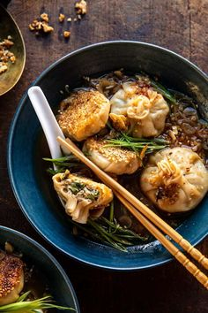 Homemade Dumplings, Chicken And Dumplings, Dim Sum, Asian Recipes, Healthy Recipes, Ethnic Recipes, Delicious Recipes, Asia Food, Homemade Chili
