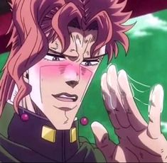 Jojo's Bizarre Adventure Anime, Jojo Bizzare Adventure, Jojo Stardust Crusaders, Jojo Anime, My Baby Daddy, Jojo Memes, Hot Anime Boy, Aesthetic Pastel Wallpaper, Cursed Images