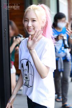 TaeYeon index - 15/07/10 KBS 뮤직뱅크 출근