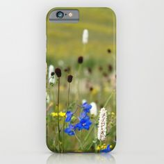 wild+flower++iPhone+&+iPod+Case+by+Color+And+Color+-+$35.00