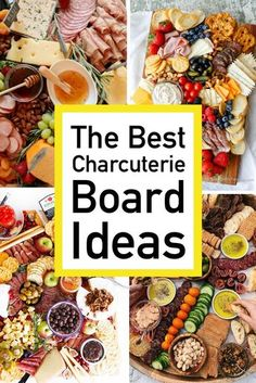 Charcuterie Board Ideas Looking for ideas on how to make a show stopping charcuterie board? Find endless inspiration on which meats, cheeses, and sides you should choose, along with a no fuss wine pairing list! Charcuterie Board Meats, Plateau Charcuterie, Charcuterie Recipes, Charcuterie And Cheese Board, Cheese Boards, Cheese Board Display, Party Food Platters, Food Trays, Meat Trays