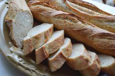 Tanulj meg sütni!: Bagett, dagasztás nélküli tésztából (DNK) Hot Dog Buns, Hot Dogs, Chips, Food And Drink, Bread, Potato Chip, Potato Chips, Breads, Mini Potatoes