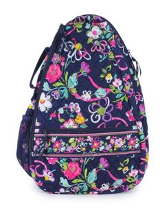 Vera Bradley Sling Tennis Backpack in Ribbons (Ribbons) Tennis Bags, Tennis Dress, Bae, Pack Your Bags, Tennis Players, Vera Bradley Backpack, Wallets, Target, Kate Spade