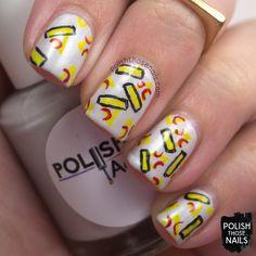 Polish Pizzas // ABC Challenge // Inspired by Joey Pasko // Polish Those Nails // nail art - polish addict nail color - indie polish