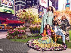 """Alessandro Michele präsentiert seinen ersten Duft """"Gucci Bloom"""" in Guccis geheimem Garten"""