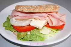 Sandwich Thins de Jamón y Feta   Coses & Cosetes