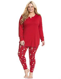 plus size christmas pjs overlap sleep short with striped elastic waistband lounge and