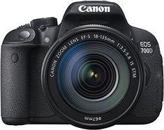 Canon EOS 700D SLR-Digitalkamera (18 Megapixel, 7,6 cm (3 Zoll) Touchscreen, Full HD, Live-View) Kit inkl. EF-S 18-135mm 1:3,5-5,6 IS STM - http://kameras-kaufen.de/canon/canon-eos-700d-slr-digitalkamera-18-megapixel-7-6-3-3