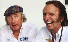 Jackie Stewart and Emerson Fittipaldi
