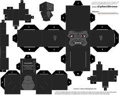 Cubee - King Kong by CyberDrone.deviantart.com on @deviantART