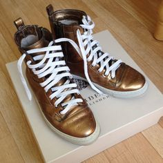 Authentic Burberry Leather Shoes