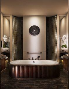 长白山柏悦酒店 Park Hyatt Changbaishan_极致之宿 Bathroom Spa, Bathroom Toilets, Bathroom Colors, Washroom, Bathroom Designs, Eclectic Bathroom, Bathroom Interior, Modern Bathroom, Boffi