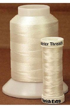Water soluble threads are great for basting quilts