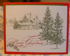 Christmas Lodge by ShariEric - Cards and Paper Crafts at Splitcoaststampers