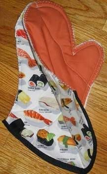 How to make an oven mitt