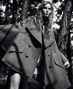 "Rianne van Rompaey in ""The Witching Hour"" by Craig McDean for Vogue UK September 2015"