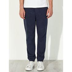 Buy Kin by John Lewis Cotton Jersey Sweat Pants, Navy Online at johnlewis.com