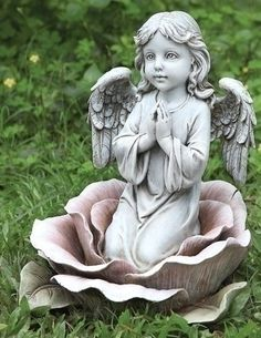 "Pack of 2 Joseph's Studio Praying Angel in Pink Rose Outdoor Garden Statues 11"" by Roman, http://www.amazon.com/dp/B00BHIZJXC/ref=cm_sw_r_pi_dp_2KXUrb14TPDCK"