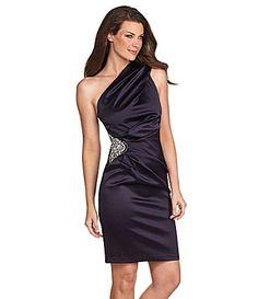 Eliza J One Shoulder Dress | Dillards.com