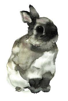 Artwork kanin by mon dieu!, via Flickr