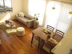 スツール(オットマン)の上手な活用方法をご提案! Interior Design Living Room, Living Room Designs, Living Spaces, Muji, Minimalist Home Interior, Small Rooms, Simple House, Apartment Design, Traditional House