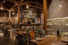 Derby Port fish sea food restaurant by Studio Yaron Tal Tel Aviv Derby