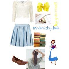 Modern Day: Belle polyvore
