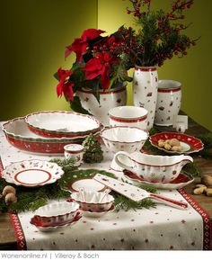 #Kersttrends 2013 A Fairy Merry Christmas met Villeroy \u0026 Boch & I think I have an obsession with Christmas dishes-these are from our ...